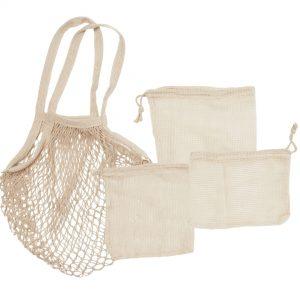 Tote Fruitbag + Organic bag